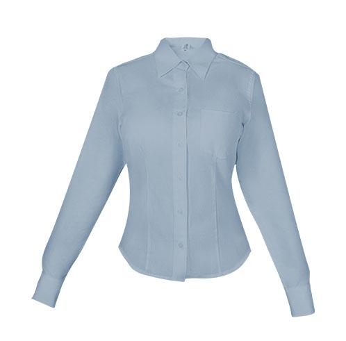 blusa larga azulclaro