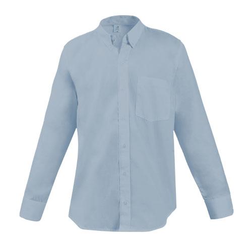 camisa ejecutiva larga azulclaro