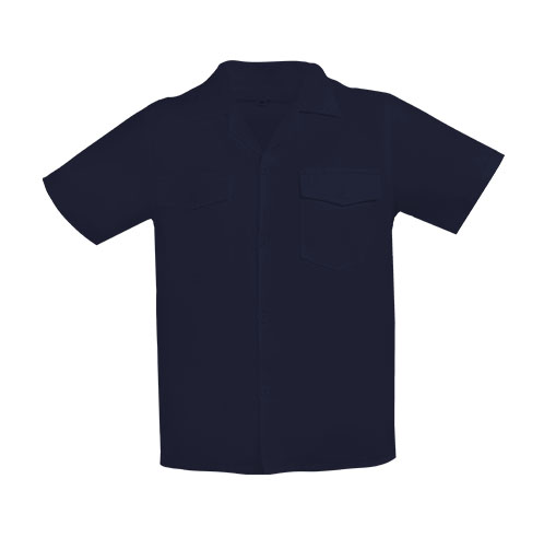 camisacorta dril azulosc